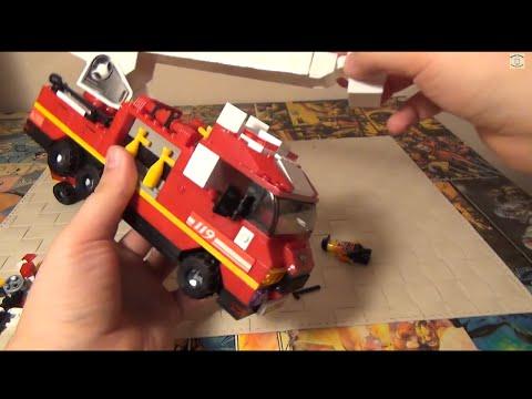 Конструктор Sluban - Пожарная машина - Lego аналог
