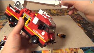 Конструктор Sluban - Пожарная машина - Lego аналог(Спасибо за просмотр нового обзора игрушек! Расписание обзоров от Товарища Сафронова в группе ВК Не забыва..., 2014-10-28T07:22:41.000Z)