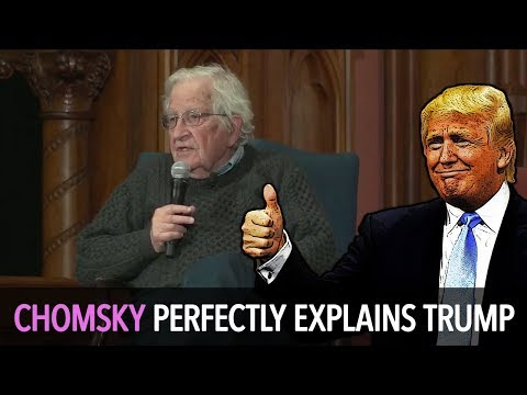 Chomsky Perfectly Explains Trump & Russiagate