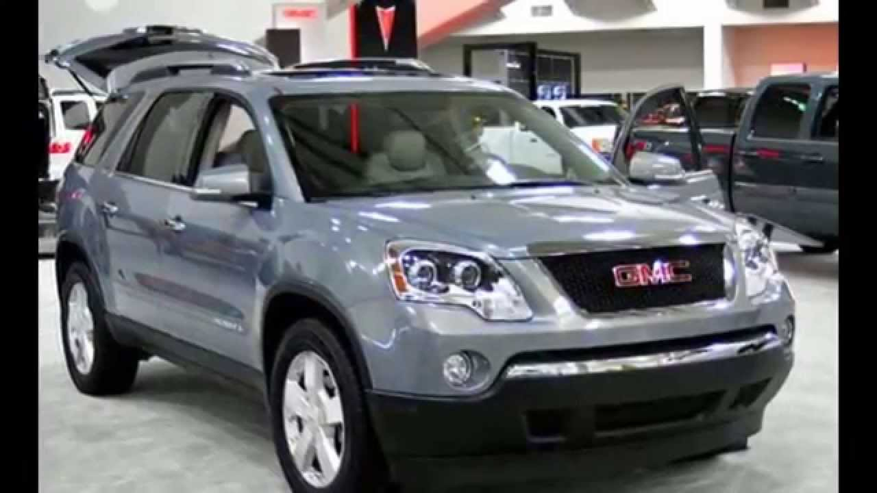 2008 Gmc Acadia Gas Mileage Pricing Features