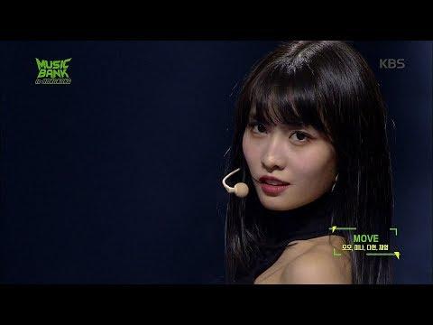 TWICE (미나, 모모, 다현, 채영) - MOVE [뮤직뱅크 in 홍콩 20190223]