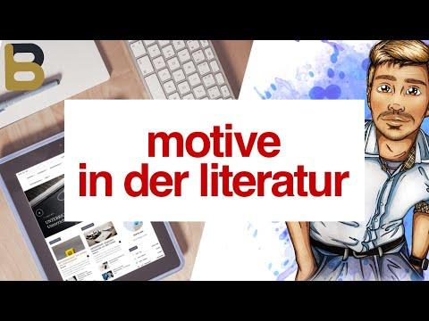 Motive in der Literatur (wichtig für Interpretation und Werkvergleich)