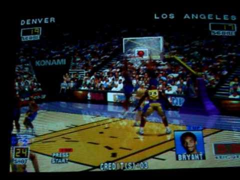 NBA Play by Play Konami Hornet...
