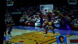NBA Play by Play Konami Hornet Hardware