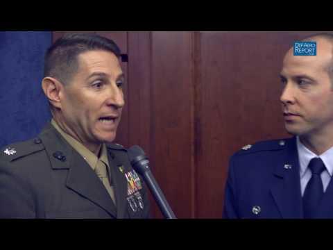 USMC & USAF Pilots on Capabilities of F35 Lightning II Fighter