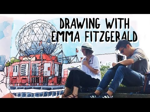 DRAWING WITH EMMA FITZGERALD, AUTHOR OF 'HAND DRAWN HALIFAX'