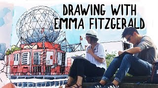 DRAWING WITH EMMA FITZGERALD, AUTHOR OF