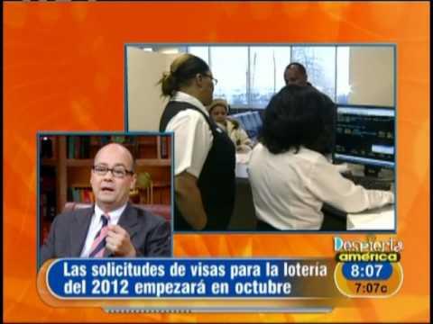 Lotería de visas para el 2012