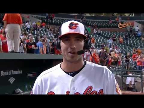 J.J. Hardy talks after driving in the winning run in the O's win