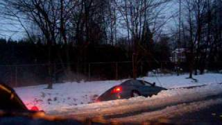 Doug's Affordable Towing Snow Recovery From Deep Ditch