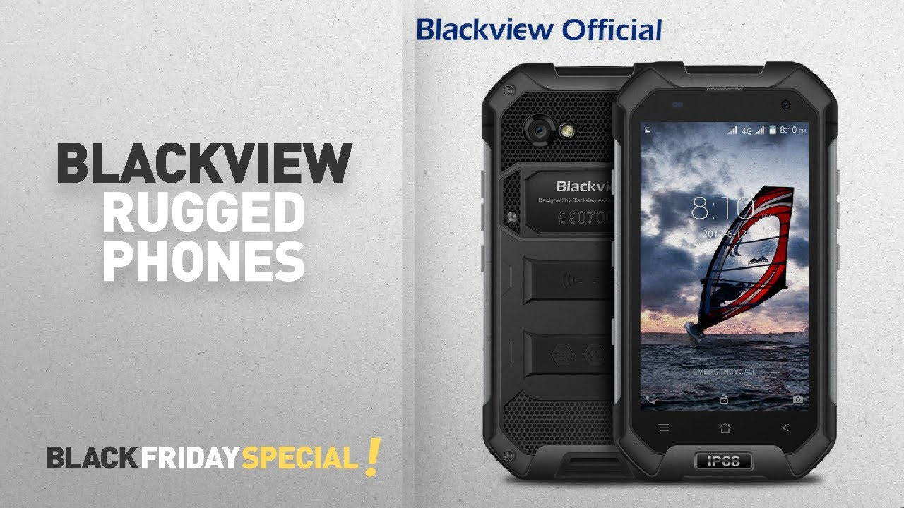 Blackview Black Friday Rugged Phones: Rugged Phone,Blackview BV6000S  Android 6 0 IP68 Waterproof