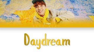 Cover images BTS J-hope  - 'Daydream' (백일몽) (Color Coded Lyrics Han/Eng/Rom)