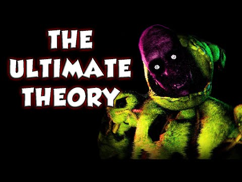 [THEORY] Purple Man Wants to Escape! Who is the Security Guard? - Five Nights at Freddy's 3 Theory