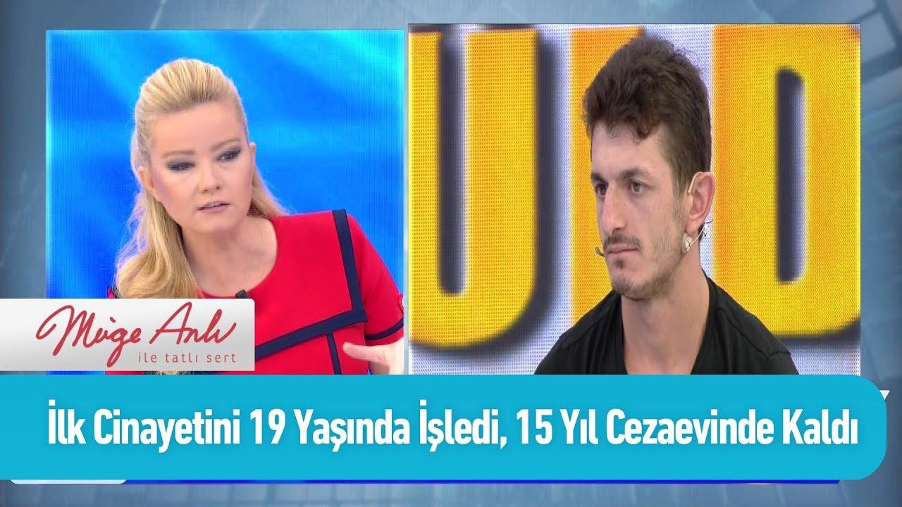 İlk cinayetini 19 yaşında işledi, 15 yıl cezaevinde kaldı - Müge Anlı ile Tatlı Sert 21 Ekim 2019