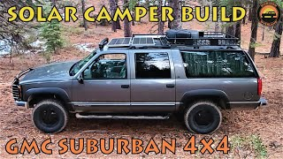 99 GMC Suburban 4x4 Overland Conversion Build Featuring Big New Changes
