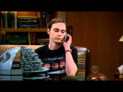 Sheldon's Telephone Ahoy - The Big Bang Theory