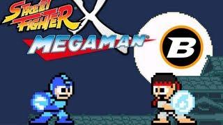 Gameplay comentado: Street Fighter X Megaman (PC)