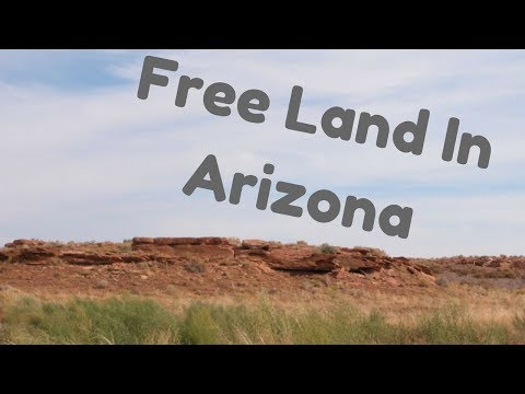 SOLD - Free Land in Arizona
