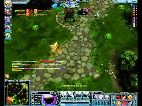 видео: Обзор игры heroes of newerth - Валькирия(Мирана)