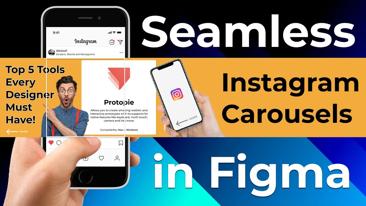 How to Create Seamless Instagram Carousels in Figma