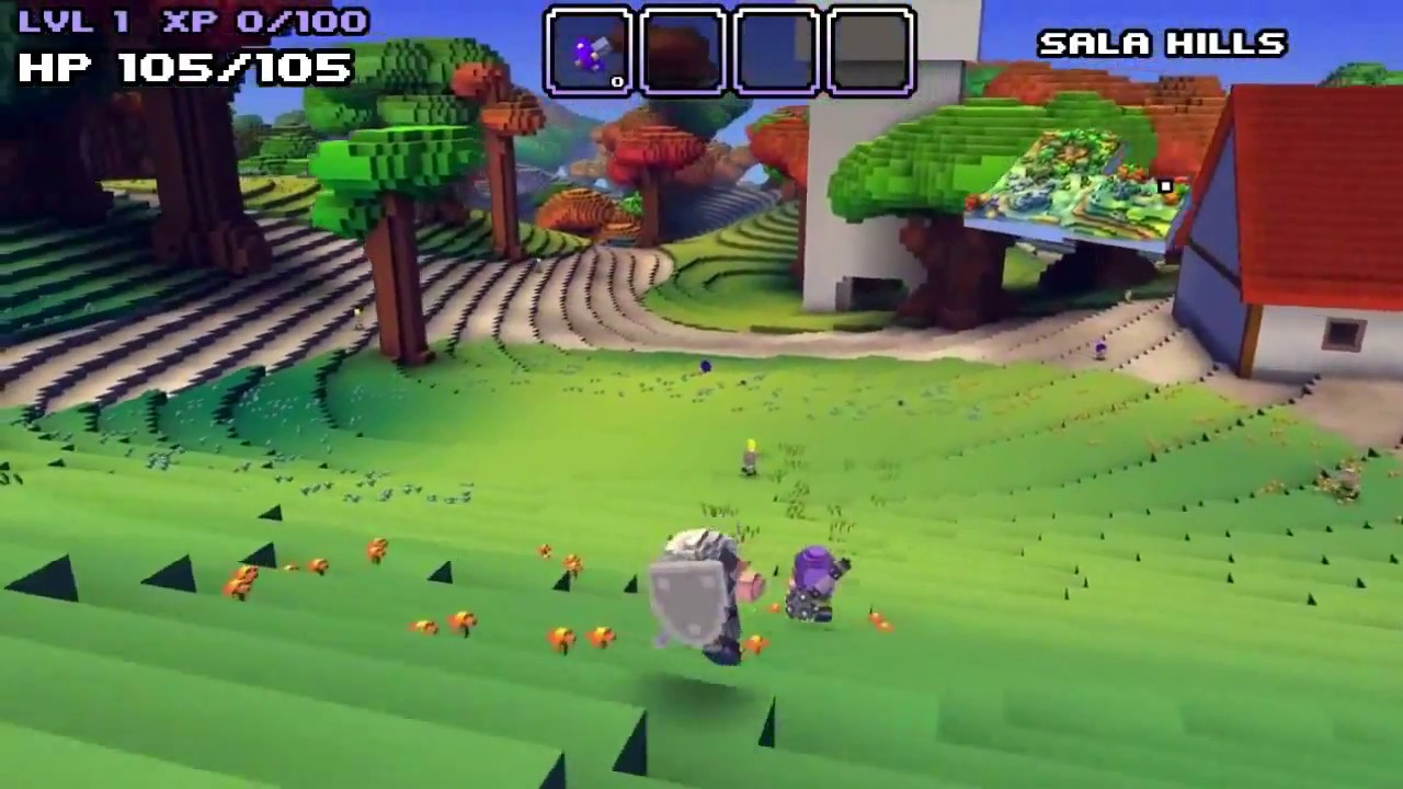 Game movies: cube world first quests trailer (hd) demo movie.