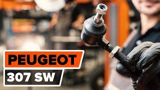 Как се сменят Накладки за ръчна спирачка PEUGEOT 307 SW (3H) - ръководства
