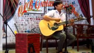 Gửi Làn Gió - anh Tài đàn và hát ^..^