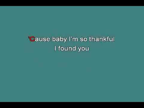 Mariah Carey   Thank God I Found You [karaoke]