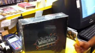 World Of Warcraft: Cataclysm Collector`s edition UnBoxing