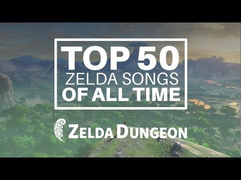 Top 50 Zelda Songs of All Time (2018 Zelda Dungeon Edition)