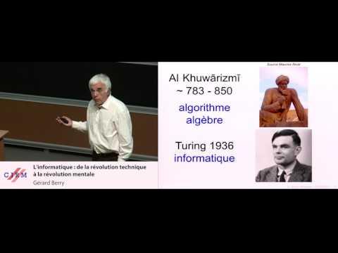 Gérard Berry : L'informatique, de la révolution technique à la révolution mentale