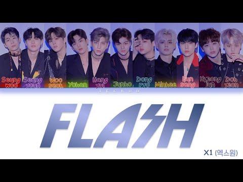 x1(엑스원)---flash-[color-coded-lyrics-han/rom/ina]-lirik-indonesia