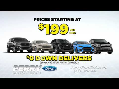 "Perry Ford Lincoln Volkswagen ""Slice the Price Sale!"""