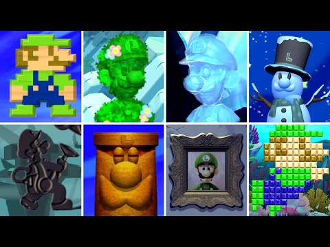 New Super Luigi U Secrets - All 82 Hidden Luigi Locations (L