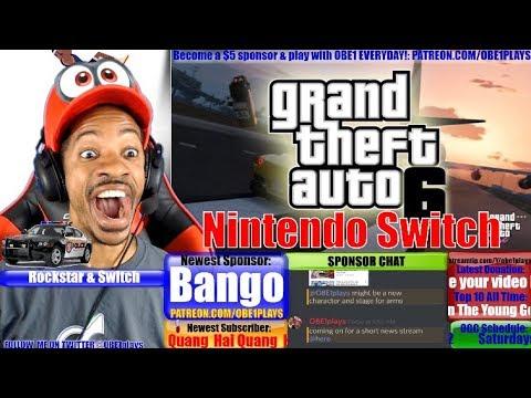 Nintendo Switch Rockstar Games Talks Switch Nba 2k