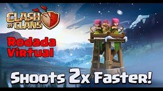 Clash Of Clans - Atualizações de Inverno - Torre das Arqueiras 2x Mais Rápida