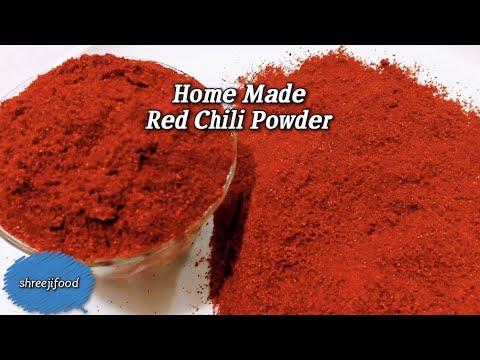 Homemade Red Chilli Powder /Lal Mirch Ka Powder Banane Ki Rit
