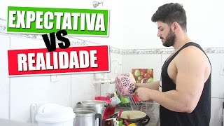 VIDA DE CASADO -  EXPECTATIVA VS REALIDADE| Kathy Castricini