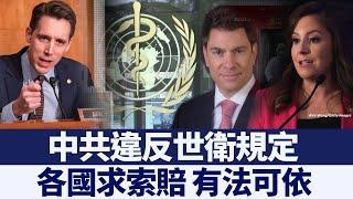 中共違反世衛規定 各國索賠有法可依|新唐人亞太電視|20200326