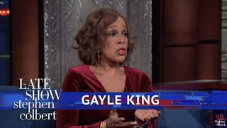 Gayle King Reacts To Charlie Rose