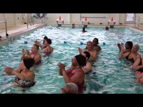 "Alanna's Water Aerobics Class ""Happy"""
