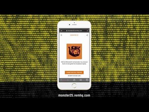 R.E.M. Monster 25 - Remix A/B Interactive Tool