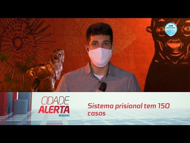 Sistema prisional tem 150 casos confirmados de coronavírus