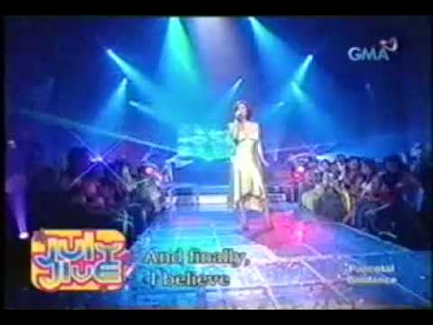 I BELIEVE (Highest Version) - Regine Velasquez