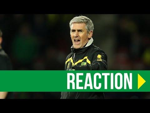 Huddersfield Town 3-0 Norwich City: Alan Irvine Reaction