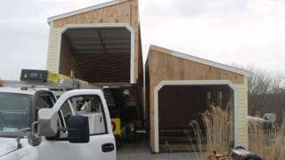 20x20 Vinyl Bolt Together Garage In Monrovia Maryland