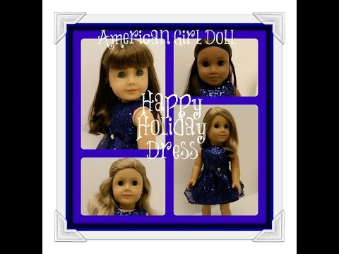 Opening American Girl Doll Happy Holiday Dress! Watch In HD!