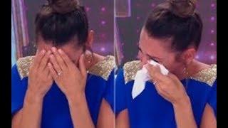 El llanto de Pampita al ver la coreo de Griselda Siciliani