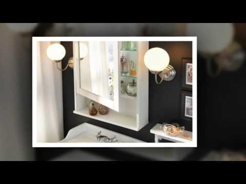 Bathroom Mirror Cabinets, Small Bathroom Design Ideas