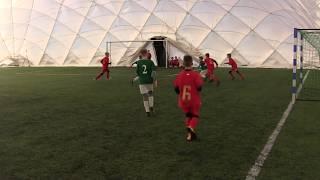 CZ18-Szabełki na Obozie z Iskrą Kochlice-Głuchołazy-Sparing Iskra Kochlice vs FC Wrocław Academy 1/3